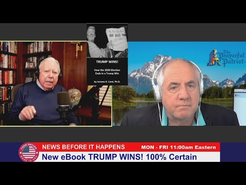 Dr Corsi NEWS 11-30-20: New eBook TRUMP WINS! 100% Certain