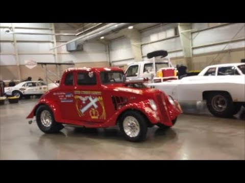Rockin' Charlie In is Willys Says Farewell To the 2019 Indoor National Dragfest