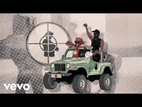 Public Enemy - Public Enemy Number Won (Animated) ft. Mike D, Ad-Rock, Run DMC