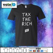 tax the rich t shirt