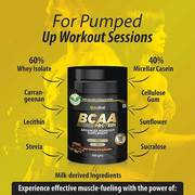 Use BCAA Supplements To Get Strong Biceps