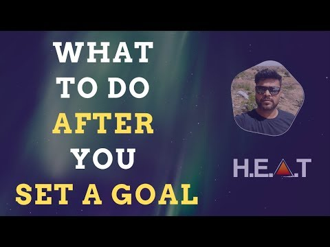 What To Do After You Set A Goal | High End Affiliate Training | Sathish Krishna