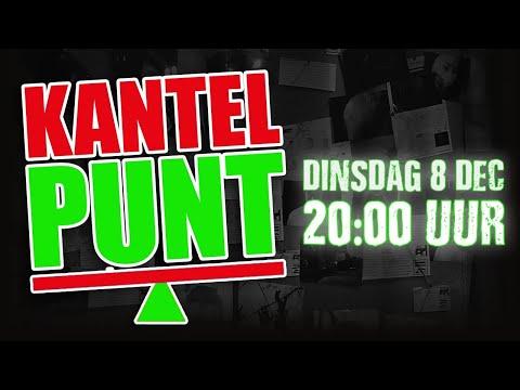 KANTELPUNT LIVE 8 DEC 2020 OM 20:00 U.