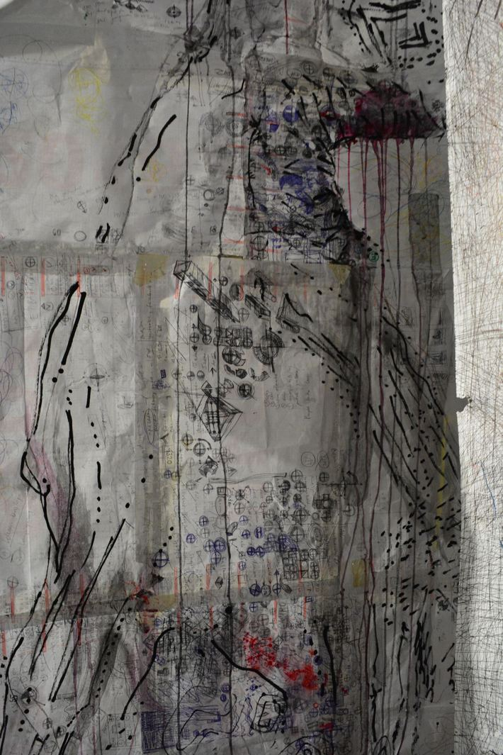 janusz plota drawing in space