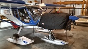 Skis on STOL CH 750