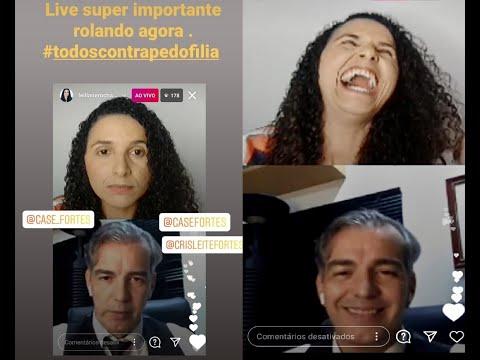 LIVE: Leiliane Rocha e Casé Fortes - sobre crimes de pedofilia - conceitos e prevenção