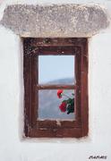 Πάτμος_ 1983   Παράθυρο στον ουρανό
