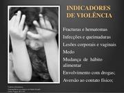 INDICADORES DE VIOLÊNCIA