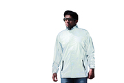 Reflective jacket - when light is shone on it