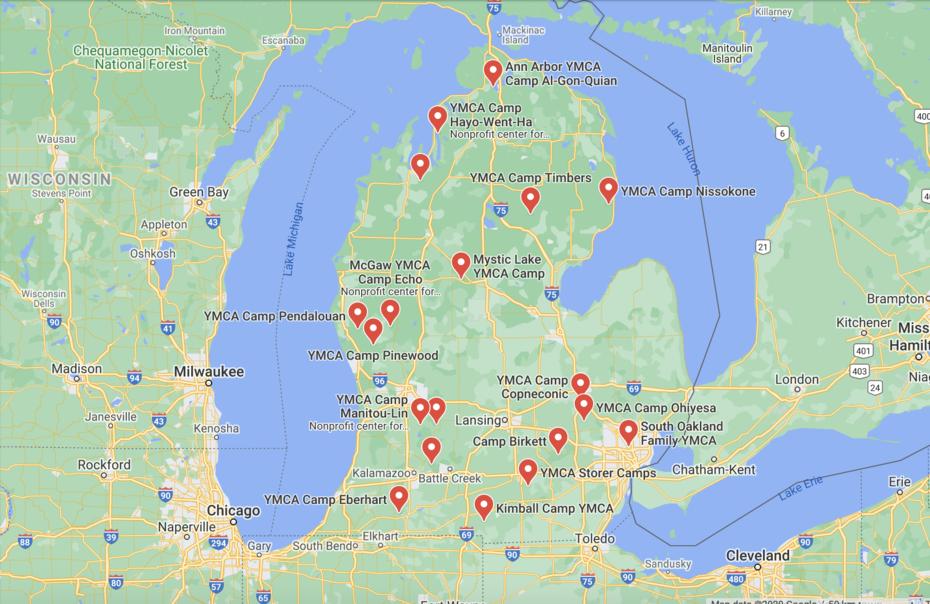 YMCA Camps-Michigan