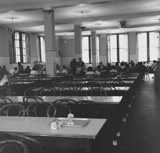 Hyde Park lunchroom 1965