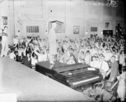 amelia earhart at assembly hall_Hyde Park High_1928