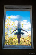 Window in an artistic dimension