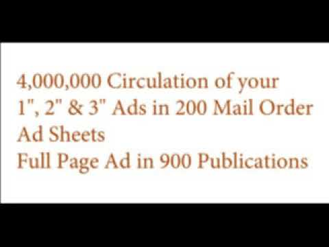 Stretch Your Advertising To 4,000,000 Circulation