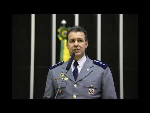 Capitão Augusto reivindicando junto vice governador de SP pelos PMs e BMs