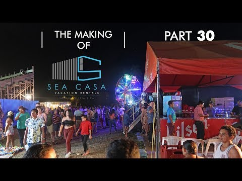 Living in Samara Costa Rica and Building Our Shipping Container Home and Rentals Part 30