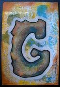 "ORIGINAL MIXED-MEDIA 6""X4"" CARD FOR SWAP All made by hand. Let me know if you are interested :)"