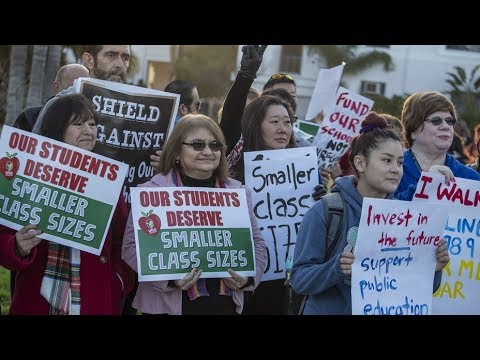 YOU CAN THANK OPEN BORDERS AND MASS IMMIGRATION FOR THE LA COUNTY TEACHER'S STRIKE