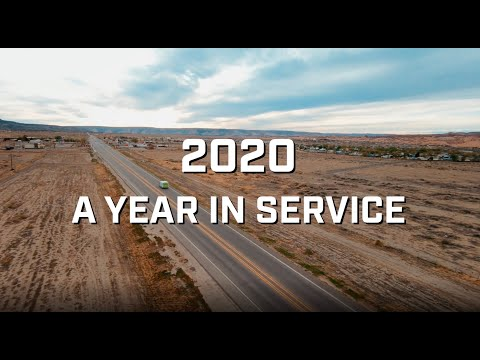 2020: A Year of Service