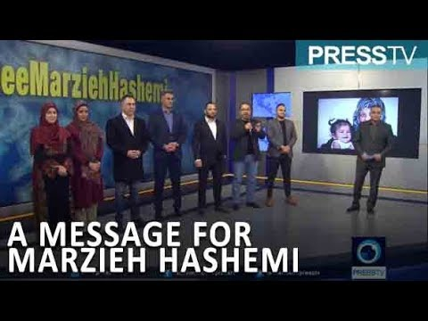 A message from PressTV to Marzieh Hashemi who is in US custody