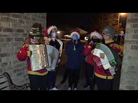 Christmas 2020 Caroling with the MECATX youth group - MERRY CHRISTMAS TO ALL