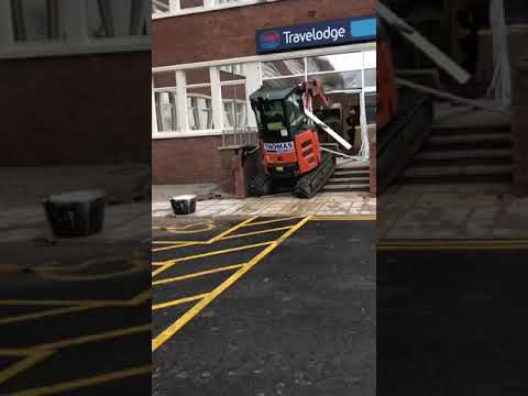 Travelodge refuses to pay contractor for work. Worker returns favor