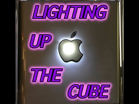 LIGHTING UP THE G4 CUBE