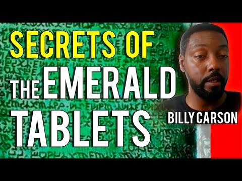 Billy Carson - Secrets Of The Emerald Tablets