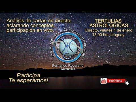 Tertulias Astrologicas: Directo 1 de Enero 2021.