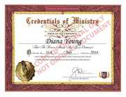 ordained minister
