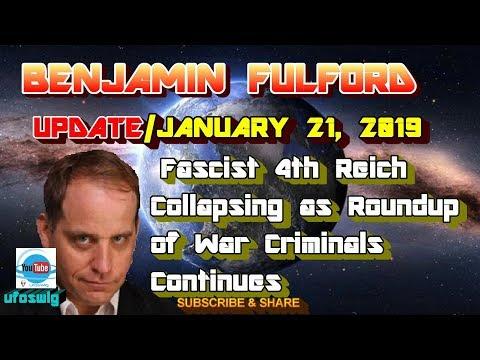 Benjamin Fulford: 2020 Tokyo Olympics and Fukushima Money Laundering | Fascist 4th Reich, War Criminals Roundup ~ January 21, 2019