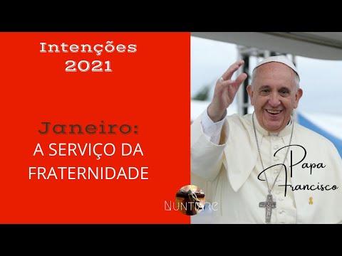 PAPA FRANCISCO | INTENÇÕES 2021| MÊS DE JANEIRO | APOSTOLADO DA ORAÇÃO