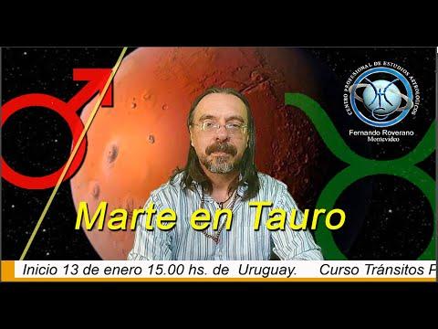 Marte en Tauro