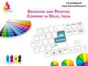 Graphic Designing and Printing company in delhi, India