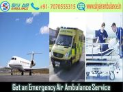 Utilize Air Ambulance in Delhi with Hi-class Medical System