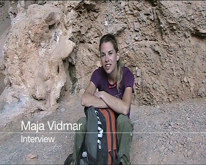 Why Maja Vidmar loves climbing