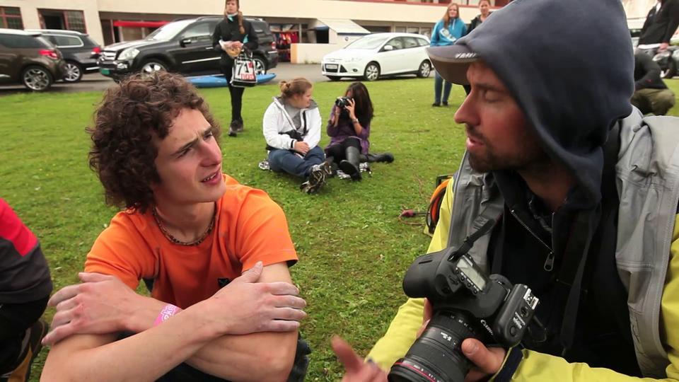 Intervju med Adam Ondra på Voss 2012