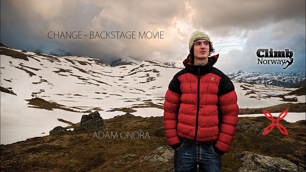 Adam Ondra - Change - Backstage movie