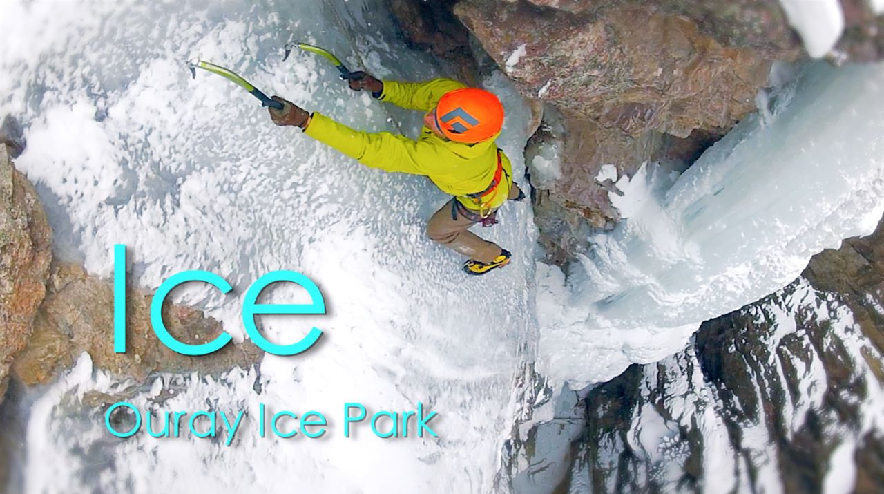 """Ice"" presented by the Ouray Ice Park"