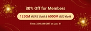 RSorder Members-Only 80% Off Sale