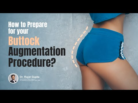 How to Prepare for your Buttock Augmentation procedure?| Buttock Augmentation Surgery|Dr Rajat Gupta