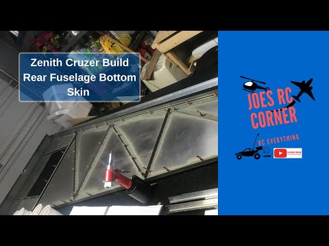 Zenith Cruzer Build: Fuselage Bottom Rear Skin