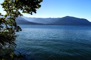 Hood Canal and the Olynpics in late August