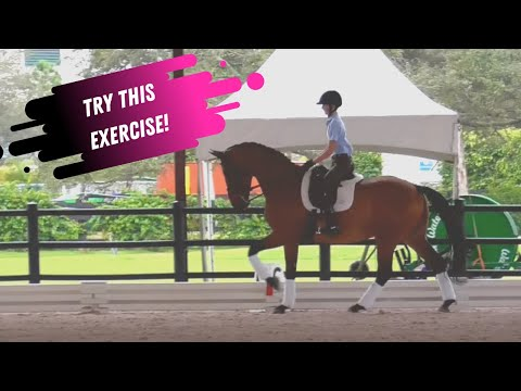 The Best Leg Yield Exercise: How To Leg Yield On & Off The Rail In Dressage With Laura Graves