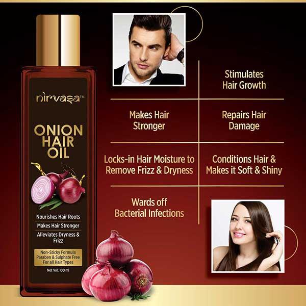 Use Onion Hair Oil To Control Hair Fall