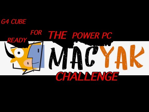 GETTING THE G4 CUBE READY FOR THE POWER PC CHALLENGE 2021