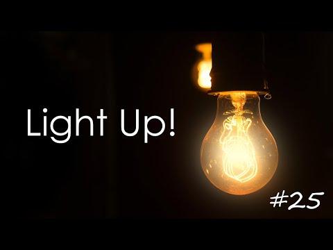 LIGHT UP! #25  -  THROW IT OFF!
