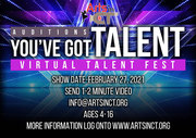 Auditions for You've Got Talent Virtual Talent Fest