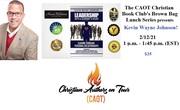 Christian Authors on Tour (CAOT) Christian Book Club - February 12, 2021