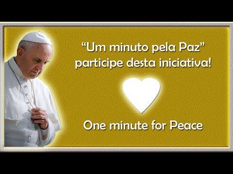 Um minuto pela Paz